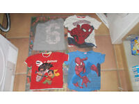 boy clothes size 4-5 and 5-6 y 18 items
