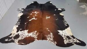 Cowhide Rug Brazilian Cow Skin Hide Natural And Real Chromium Tanned Free Delivery