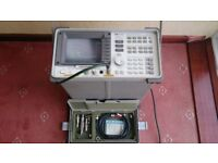 HP 8591A RF SPECTRUM ANALYZER 1 MHz-1.8 GHz -75 Ohm calibration