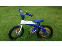 Genuine BMW Kidsbike - Children Bicycle - Aluminum Frame (very light!) - From 3 to 6 Year