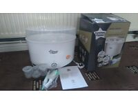 Tommee tippee electric steiliser and bottle warmer
