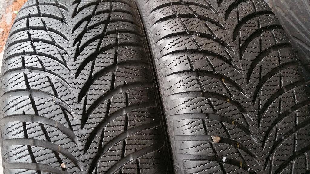 195 55 16 2 x tyres Goodyear UltraGrip 7+