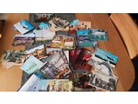 Over 100 vintage collectable postcards