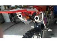 Crf 250 twin pipe 09