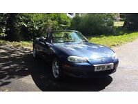 Mazda MX-5 1.8 2dr Auto Full service history New mot Hardtop worth £500