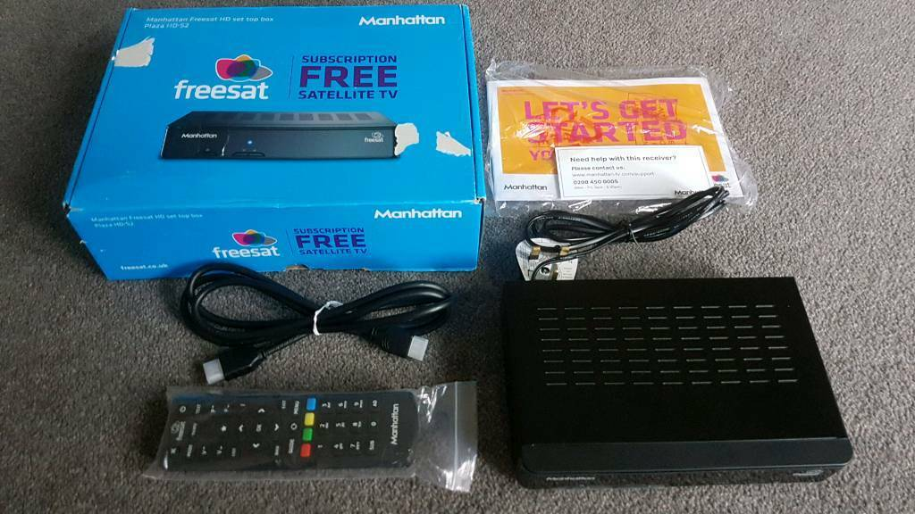 Manhattan Plaza HD-S2 Freesat HD Set Top Box