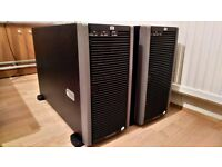 HP ProLiant ML370 G5 (2 Proc) Quad-Core Xeon 2GHz **TWO AVAILABLE**