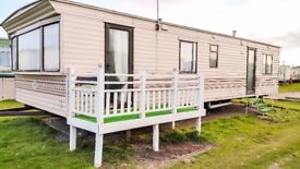 "Large 35""x12"" Comfy 3 Bed Static Caravan with Balcony for Sale OFF Site in Leysdown, Sheerness, Kent"