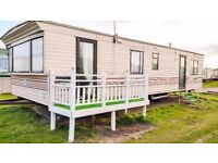"""Large 35""""x12"""" Comfy 3 Bed Static Caravan with Balcony for Sale OFF Site in Leysdown, Sheerness, Kent"""