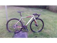 Boardman Cyclocross Bike, lots of upgrades!