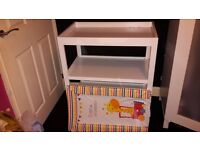 Baby changing Unit with Mat