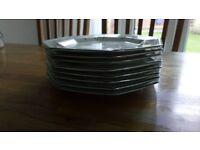8 x Eternal Beau Dinner Plates (Johnson Brothers)