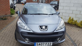 Peugeot 207cc,full service history,great condition