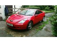 Toyota celica 1.8 vvti for sale