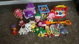 Soft toys n games bundle