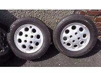Ford SIERRA/COSWORTH/SAPPHIRE, Set Of 5 Wheels