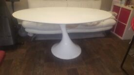 White Dwell Twist Table. Must Sell TODAY, Offers?