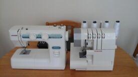 Sewing machine and overlocking machine for sale