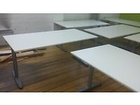 Great white Ikea Galant desks for sale at a great price