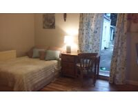 Beautiful, spacious, double room in garden flat available.