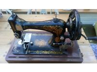 Antique Singer sewing machine 1892