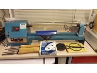 Clarke CWL6B 20in Woodworking Lathe complete with tools and accessories