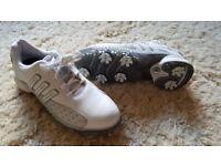 BNIB Ladies Adidas Powerband Sport Golf Shoes Size 6