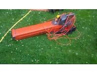 Electric flymo garden vac