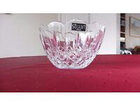 Stuart Crystal Bowl