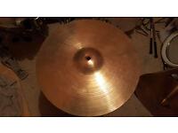 "Zildjian 14"" Vintage New Beat hi hats. Plus LOADS of other cymbals.....LOOK!!!!!!!!!!!!!!"