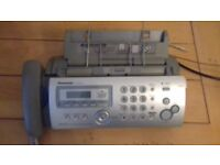 Panasonic Telphone/Fax/Copier machine