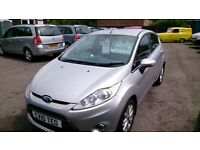 2010 FORD FIESTA 1.2 ZETEC 5 DOOR HATCH IN SILVER ONLY 78K WITH F/S/HISTORY MAY 2017 MOT ALLOYS E/W