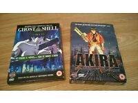 Pair of Manga DVDs - Akira - Ghost in the Shell