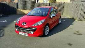 2008 peugeot 207 gti 175 thp same as mini cooper s r56 turbo not vtr vti hdi 206 208 gti