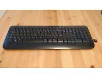 Microsoft 800 Wireless Keyboard with USB adapter