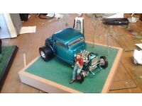 FORD DEUCE COUPE DIORAMA 1/18 SCALE