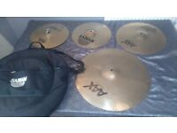 Sabian aax stage cymbal pack