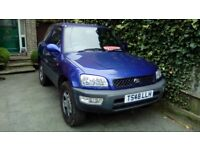 Toyota RAV4 Auto 2 litre petrol like Vitara/Shogun/Freelander/Jimny