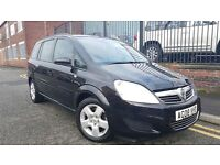 2008 Vauxhall Zafira 1.9 CDTi Exclusiv 5dr MPV, Automatic, Warranty & Breakdown Available, £2,795