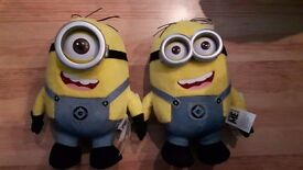 Minion Dave & Stuart Soft Toy (brand new)