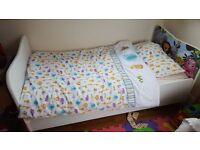 Chid's starter bed /mattress/bedding /pillow/pillowcase