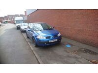 Renault megane 1.4 petrol. Need to sell due to no longer needed