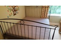 Ikea Tingvoll king size bed with sultan mattress
