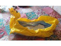 Munchkin inflatable baby bath
