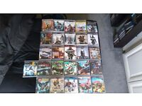 PS3 Games. (26). £25 for all or £2 each.