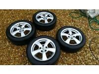 "Honda Civic Alloy wheels 16"""