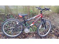 Mountain bike 24 inch wheels