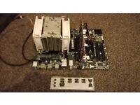 BARGAIN COMBO!!GIGABYTE 970A,FX 6350-3.9GHZ,8GB DDR3,HD 6670 2GB!