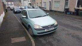 Vauxhall Corsa C SWAP OR CASH