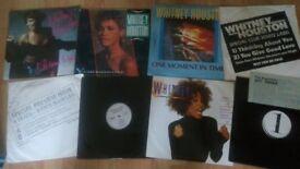 """34 x whitney houston vinyl collection LP/12"""" /7"""" /promo/ box set /"""